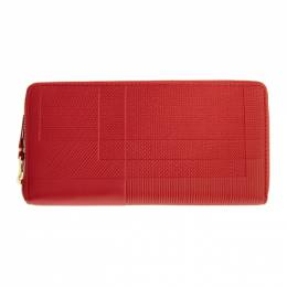 Comme Des Garcons Wallet Red Intersection Continental Wallet SA0110LS