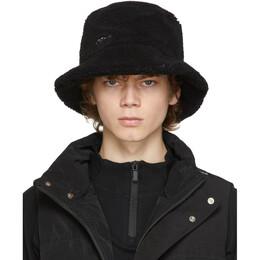 C2H4 Black Fleece Bucket Hat R002-116