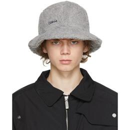 C2H4 Grey Fleece Bucket Hat R002-117