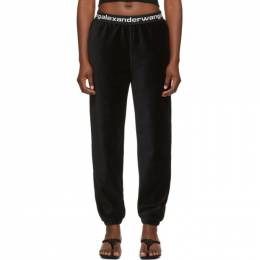 T By Alexander Wang Black Corduroy Lounge Pants 4CC1204024