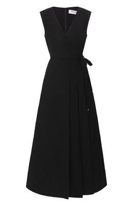 Платье из шерсти и шелка Valentino UB3VASW01CF