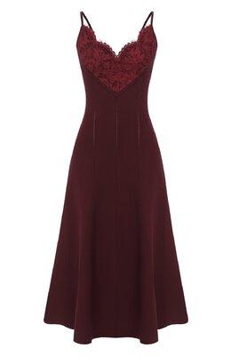 Платье из вискозы Valentino UB3KD04N5RV