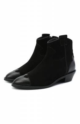 Кожаные ботинки Western See By Chloe SB35041A/12080
