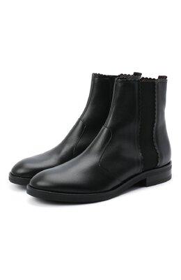 Кожаные ботинки See By Chloe SB35055A/12001