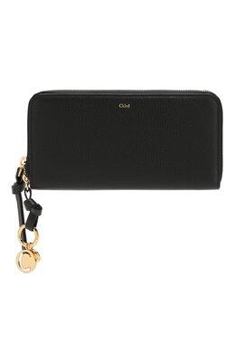 Кожаный кошелек Alphabet Chloe CHC17AP941H9Q