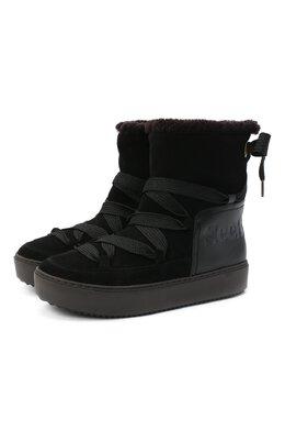 Замшевые ботинки See By Chloe SB35151A/12230