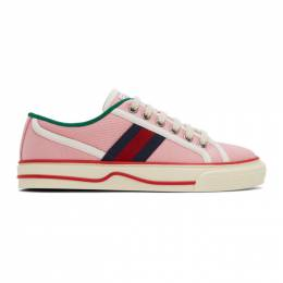 Gucci Pink Gucci Tennis 1977 Sneakers 634161 GZO30