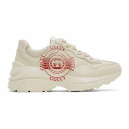Gucci Off-White Rhyton Sneakers 630609 DRW00