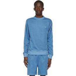 Ami Alexandre Mattiussi Blue Technique Sweatshirt A20HJ022.744