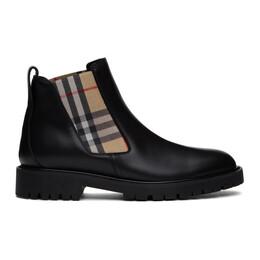 Burberry Black Allostock Boots 8025694