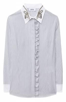 Хлопковая блузка Aletta AC000477ML/9A-16A