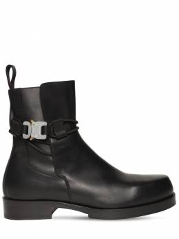 Кожаные Ботинки Челси 1017 Alyx 9Sm 72IXJT001-QkxLMDAwMQ2