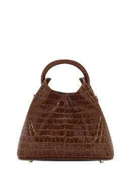 Baozi Croc Embossed Leather Bag Elleme 72IXJH004-Q09HTkFD0