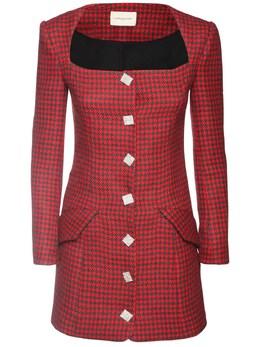 Полушерстяное Платье Giuseppe Di Morabito 72IWW4001-UkVELUJMQUNLIDA00