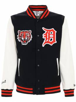 Nba Detroit Tigers Bomber Jacket New Era 72IXME027-QkxL0