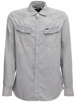 Рубашка Из Хлопка Деним 3301 G-Star 72IVZC015-Qjc5Mw2