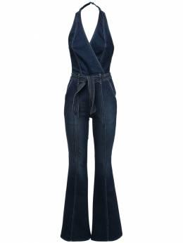 Cotton Denim Jumpsuit Mother 72IRT4013-SE1W0