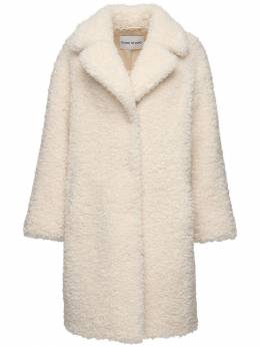 Camille Faux Fur Coat Stand 72IRSU022-OTYwMDA1