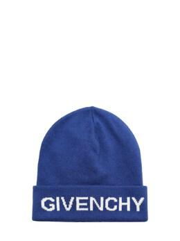 Шапка Из Хлопка И Кашемира Givenchy 72IOFL091-ODY10
