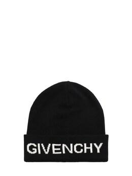 Шапка Из Хлопка И Кашемира Givenchy 72IOFL091-MDlC0