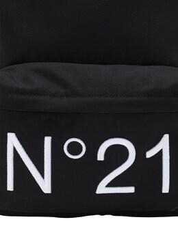 Embroidered Logo Nylon Backpack No. 21 72IOES019-ME45MDA1
