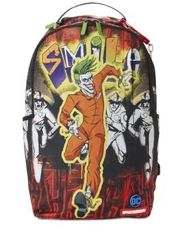 Рюкзак Из Канвы Joker Sprayground 72IOEN018-TVVMVElDT0xPUg2