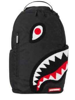 Рюкзак Angle Shark Из Шенила Sprayground 72IOEN012-QkxBQ0s1