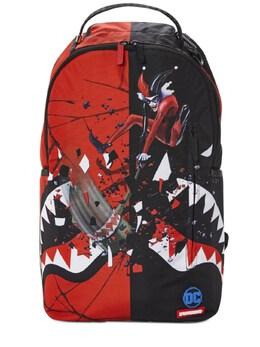 Рюкзак Harley Quinn С Принтом Sprayground 72IOEN011-UkVEL0JMQUNL0
