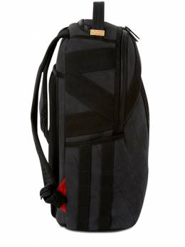 Shark Printed Faux Leather Backpack Sprayground 72IOEN007-QkxBQ0s1