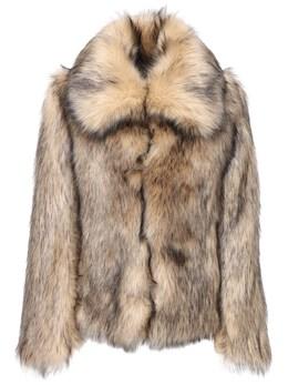 Куртка Из Искусственного Меха Paco Rabanne 72IMDQ009-UDAzMg2