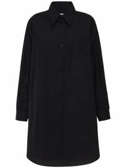 Платье Из Хлопка Поплин Mm6 Maison Margiela 72IM8L026-OTAw0