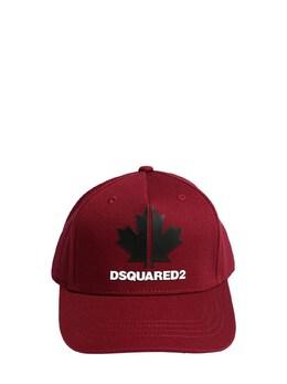 Cotton Gabardine Baseball Hat Dsquared2 72ILXM019-RFE0MDE1