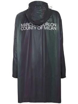 Плащ-дождевик С Логотипом Marcelo Burlon County Of Milan 72ILF9014-MTAwMQ2