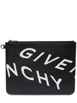 Клатч Из Кожи С Принтом Givenchy 72ILBG006-MDA00