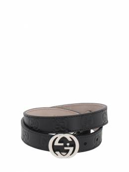 Кожаный Ремень Gucci 72ILAS023-MTAwMA2