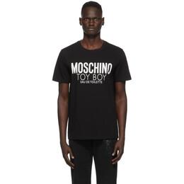 Moschino Black Toy Boy T-Shirt 0703 7038