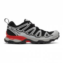 Salomon Black and Grey X Ultra ADV Sneakers 412509