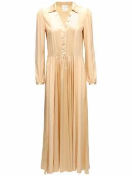 Платье Из Атласа Moroccan Forte_Forte 72IKOS019-RFVOQQ2