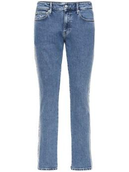 Джинсы Из Хлопкового Деним 17см Calvin Klein Jeans 72IJSG030-MUE00