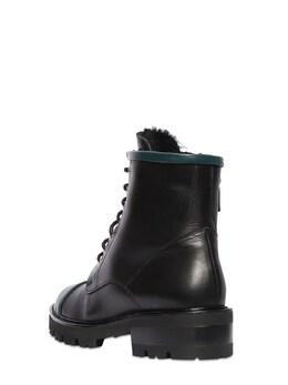 Кожаные Ботинки-комбат Bryce 30mm Malone Souliers 72II7R011-QkxBQ0svREFSS1RFQUw1