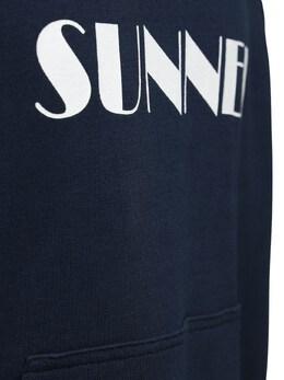 Свитшот С Капюшоном И Принтом Логотипа Sunnei 72IGZI001-REFSSyBCTFVF0