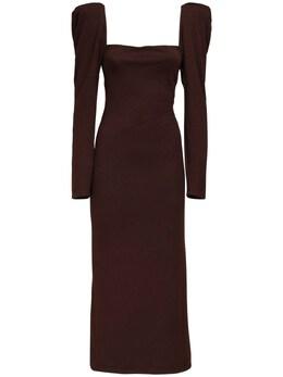 Миди-платье С Квадратным Вырезом Johanna Ortiz 72IGO0010-QUZURVIgREFSSyBCUk9X0