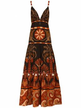 Платье Из Поплин С Принтом Johanna Ortiz 72IGO0007-QUZURVIgREFSSyBCUk9X0