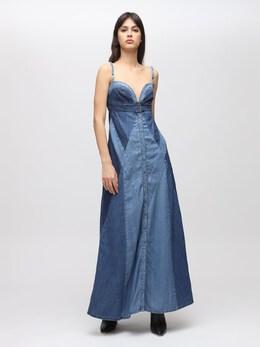 Платье Из Денима De-aryna Diesel 72IG5H017-MDE1