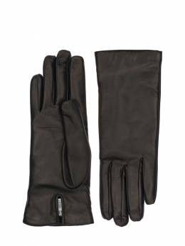 Spalato Short Leather Gloves Max Mara 72IWBC015-MDEw0