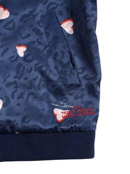 Двухсторонняя Куртка-бомбер Из Атласа Little Marc Jacobs 72IFGD058-WjQw0