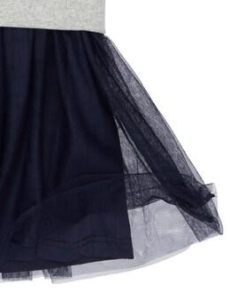 Платье Из Хлопка С Капюшоном Billieblush 72IFFK026-QTMy0