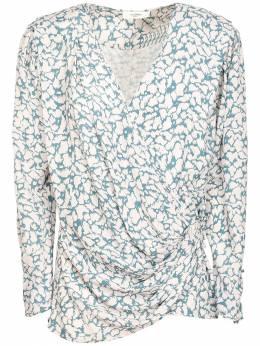 Блузка Из Жоржета С Принтом Isabel Marant Etoile 72IE1B057-MzBHQg2