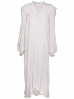 Платье Ibenia Из Хлопкового Кружева И Вискозы Isabel Marant Etoile 72IE1B050-MjBXSA2