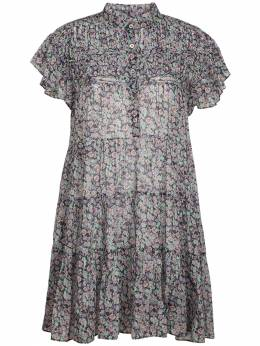 Короткое Платье Из Хлопка Lanikaye Isabel Marant Etoile 72IE1B043-OTlNVQ2